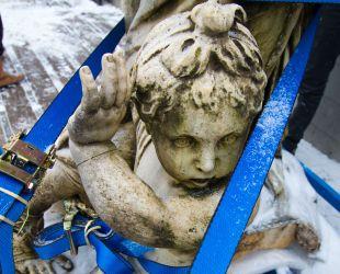 集合像撤去時のディアナ像