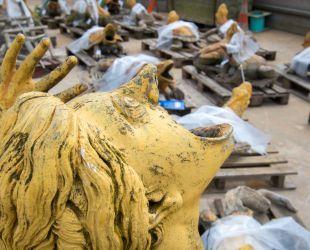 Esculturas del estanque de Latona