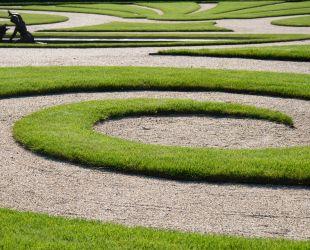 ラトナの花壇の眺め