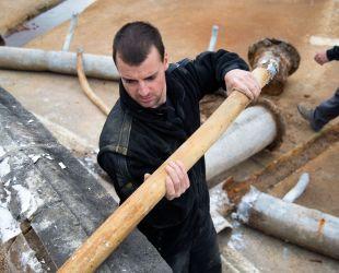 給水管の撤去
