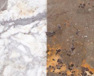 白大理石の修復