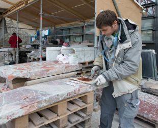 Restauration des marbres