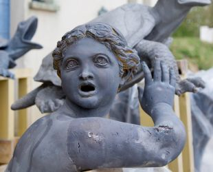 Sculptures après hydrogommage