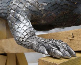 Sculpture de plomb