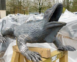restored lizard