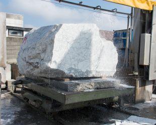 Découpe du marbre