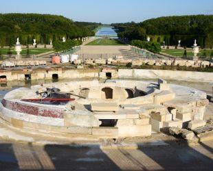 Bassin de Latone : la restauration continue