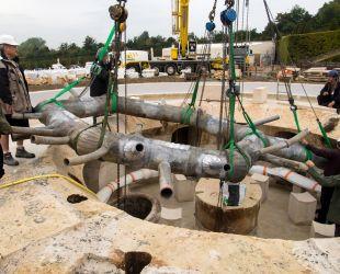Reinstalling the hydraulic system