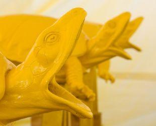 Pose de la couche anti corrosive jaune