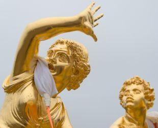 Retour des sculptures du parterre de Latone