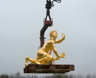 Return of the Latona Parterre sculptures