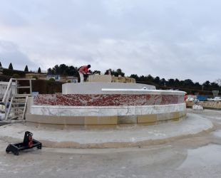 Repose des marbres restaurés