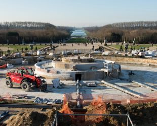 The Latona fountain: a work in progress