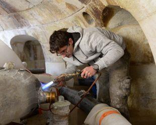 Restauration du système hydraulique