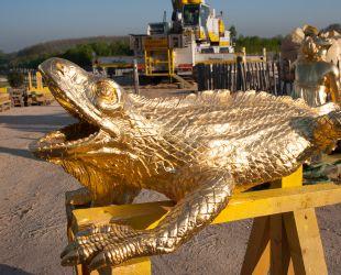 Retour des sculptures restaurées