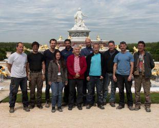 Le service des Fontaines de Versailles