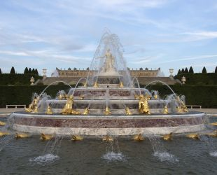 Latona fountain after restoration