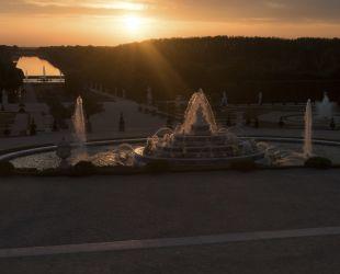 Bassin de Latone restauré
