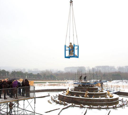 ラトナの集合像の撤去
