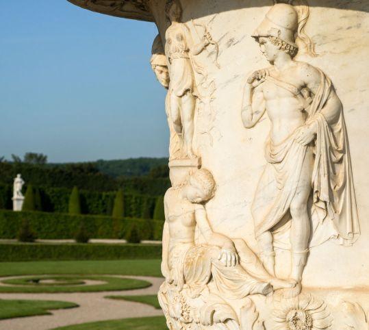 ラトナの花壇の壺