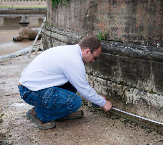 泉水の測定