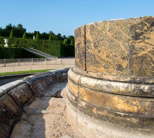 泉水の解体