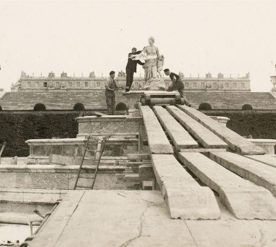 1939年のラトナ撤去作業