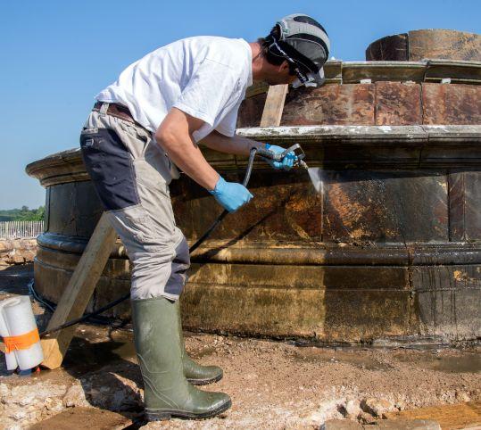 大理石の洗浄