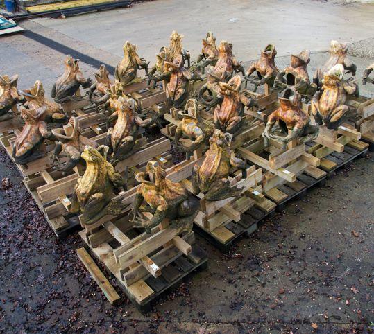 Les sculptures de plomb du bassin de Latone
