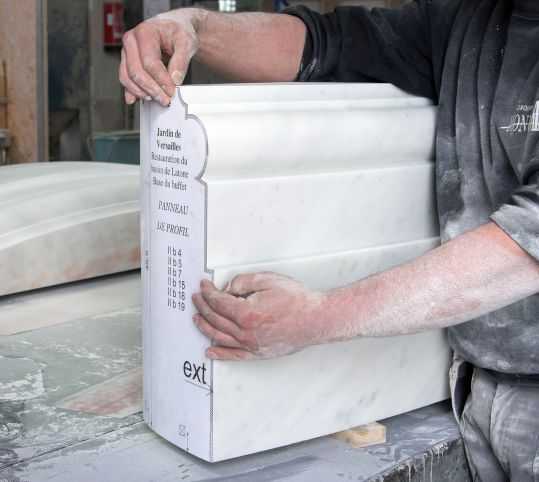 Sculpture du marbre