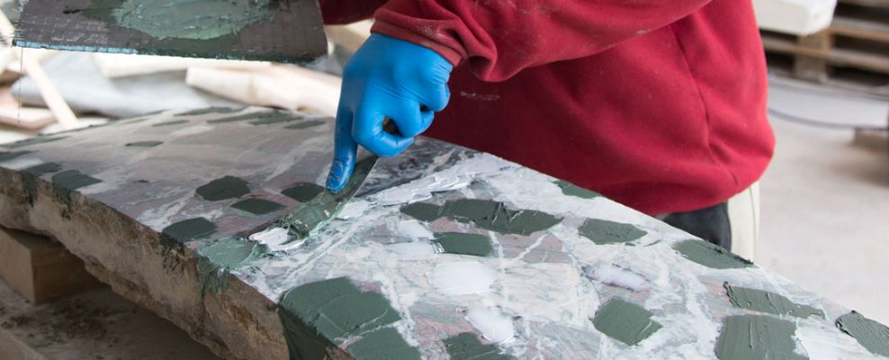 Marble restorers
